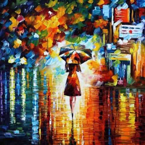 Rain princess leonid afremov